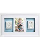 Pearhead Babyprints Hand & Foot Wall Frame - White