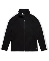 Xersion Little & Big Boys Lightweight Track Jacket, X-small (6-7) , Black