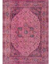 Fuchsia (Pink) Abstract Loomed Area Rug - (4'X6') - Safavieh