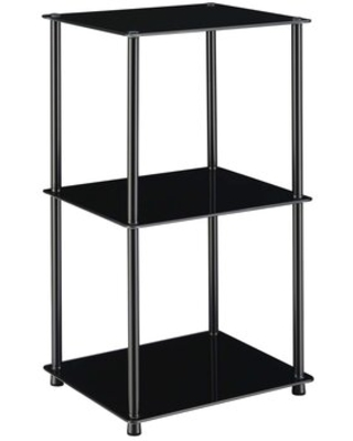 Spectacular Sales For Beckett Etagere Bookcase Ebern Designs Color Black Glass