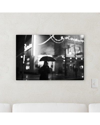 """Ebern Designs 'Blurred out (102)' Photographic Print on Canvas BF107267 Size: 16"""" H x 48"""" W x 2"""" D"""