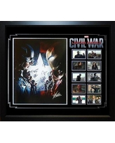 LuxeWest 'Captain America Civil War Collage' Framed Graphic Art Print Poster LWMV1-01263