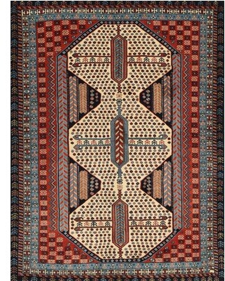 Spectacular Sales For Cailen Traditional Red Beige Brown Area Rug Bloomsbury Market Rug Size Rectangle 2 X 4