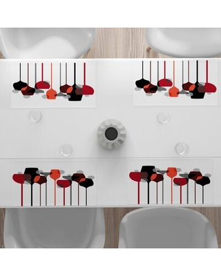 """Wine 18.5"""" Placemat East Urban Home"""