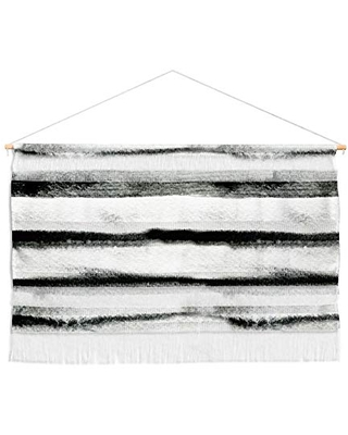 """Deny Designs Earth Lines Cayenablanca Fiber Wall Hanging, Large Landscape (47"""" x 22"""