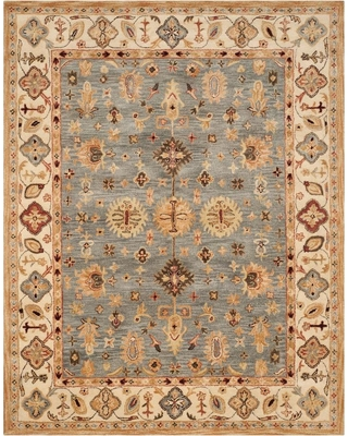 Spectacular Deals On Safavieh Antiquity Blue Ivory 8 Ft X 11 Ft Area Rug