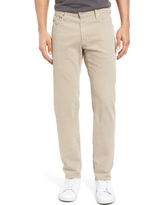 Men's Ag Tellis Sud Modern Slim Stretch Twill Pants, Size 31 x 34 - Beige