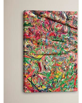 """Brayden Studio Untitled 14 by Mark Lovejoy Painting Print on Wrapped Canvas BRSD3138 Size: 26"""" H x 18"""" W x 0.75"""" D"""