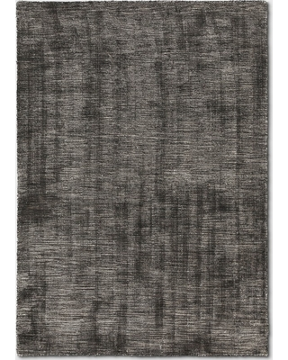 7'X10' Woven Tie Dye Design Area Rug Charcoal Heather - Project 62