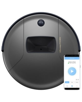 bObsweep PetHair Vision Wi-Fi Connected Robotic Vacuum Cleaner - 13x13x3 in (Black)