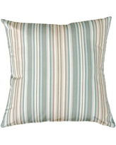 Don T Miss Deals On Lanford Indoor Outdoor Striped Throw Pillow Highland Dunes Color Beige