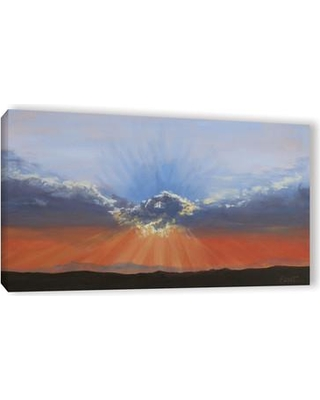 """Winston Porter Dream On A Dreamer Painting Print on Wrapped Canvas WNPR2800 Size: 18"""" H x 36"""" W"""