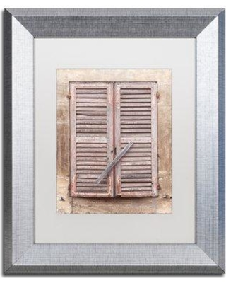 """Winston Porter 'French Windows III' Framed Photographic Print WNPO1615 Size: 20"""" H x 16"""" W x 0.5"""" D Frame Color: Silver"""