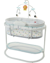 Fisher-Price Soothing Motions Bassinet, Multi-Colored