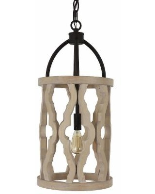 Decor Therapy Alexander Chandelier, Brown