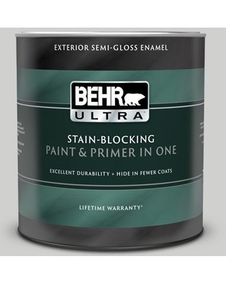 BEHR ULTRA 1 qt. #PPU26-15 Halation Semi-Gloss Enamel Exterior Paint and Primer in One