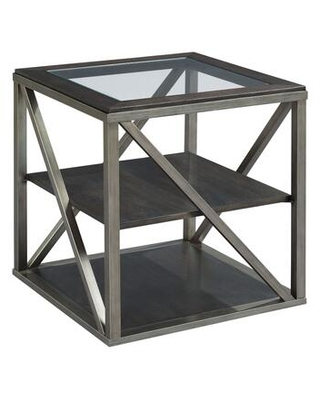 Jupiter Collection 543-915 RECTANGULAR END TABLE in Smokey Brown Otter and Glazed