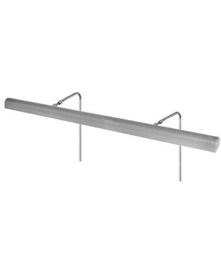 """Cocoweb Classic Hardwired 1-Light Frame Mounted Picture Light ALEDV- Finish: Satin Nickel Size: 7.5"""" H x 36"""" W x 7"""" D"""