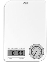 Ozeri Rev Digital Kitchen Scale with Electro-Mechanical Weight Dial ZK18-W Color: Gray Dial