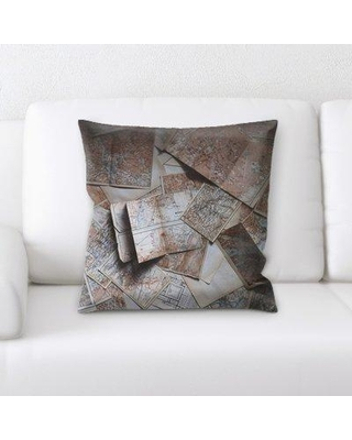East Urban Home Architecture Throw Pillow W000638142