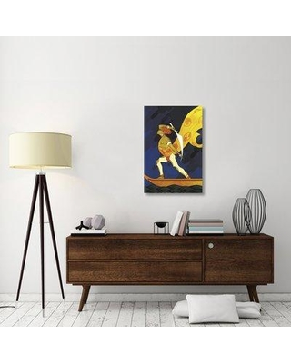 """East Urban Home 'The Bark of the False Caliph 1926' Graphic Art Print on Canvas ESUH3017 Size: 36"""" H x 24"""" W x 1.5"""" D"""