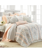 On Sale Now 50 Off Levtex Home Gray Darcy Reversible Quilt Set