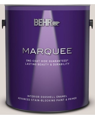 BEHR MARQUEE 1 gal. #N210-1 Taupe Tease Eggshell Enamel Interior Paint and Primer in One