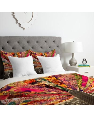 East Urban Home Blooming NYC Duvet Cover Set ESRB1869 Size: Queen
