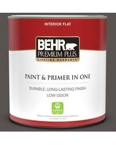 Check Out Deals On Behr Premium Plus 1 Gal Home Decorators Collection Hdc Cl 24g Equestrian Leather Flat Exterior Paint Primer