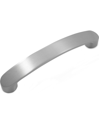 Laurey Ultima 3.78 in. (96 mm) Center-to-Center Satin Nickel Zinc Contemporary Dual Mount Drawer Pull