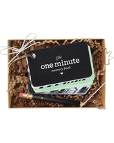 Inklings Paperie The One Minute Memory Book Baby Book Mint Starter Ring