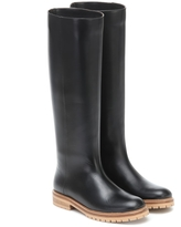 Howard leather knee-high boots
