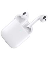 Refurbished Apple AirPods Generation 2 with Wireless Charging Case MRXJ2AM/A