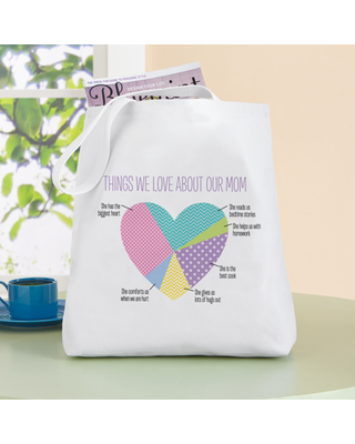 Personalized Things We Love About Her Tote Bag