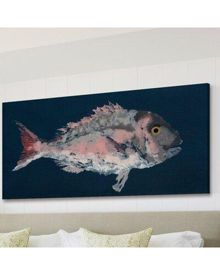 """Marmont Hill 'Red Porgy' Painting Print on Wrapped Canvas MH-MICPAN-18-C Size: 30"""" H x 60"""" W x 1.5"""" D"""