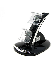 Dual Dock Charger Cradle for Xbox One, One Size , Black