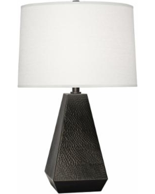 Robert Abbey Dal Deep Patina Bronze Tapered Table Lamp