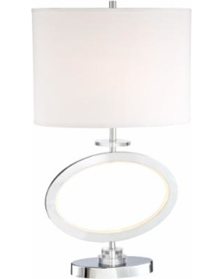 Heres a great price on lite source renia ii chrome led table lamp lite source renia ii chrome led table lamp with night light aloadofball Image collections