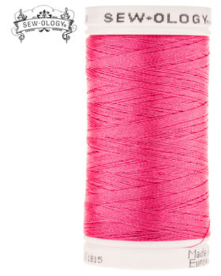 Hot Pink Polyester Embroidery Thread