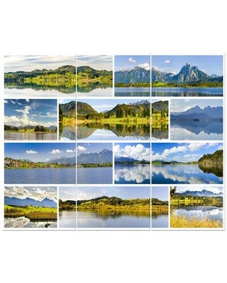 East Urban Home 'Bavaria Panorama' Photographic Print Multi-Piece Image on Wrapped Canvas FCIV4851