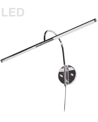 10W Picture Light Polished Chrome