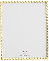 """Rope Plated Frame, Gold - 8 x 10"""""""