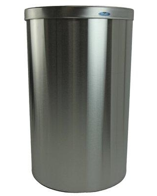 Frost Receptacle 32 Gallon Trash Can 310 Color: Stainless Steel