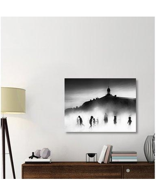 """East Urban Home 'On the Roof' Photographic Print on Canvas ERBR2367 Size: 30"""" H x 40"""" W x 1.5"""" D"""
