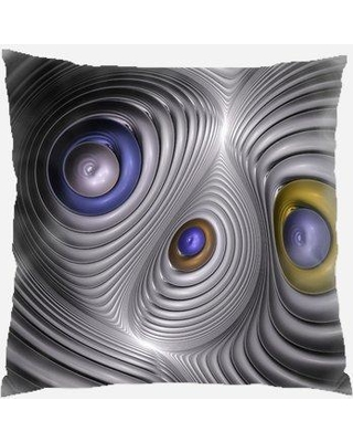 Rug Tycoon Fractal Throw Pillow PW-fractal-2106300
