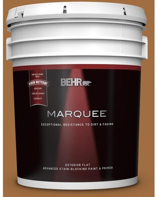 Find Big Savings On Behr Marquee 5 Gal Mq4 05 Castellina Flat Exterior Paint Primer