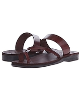 Zohar - Leather Toe Ring Sandal - Womens Sandals Brown