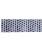 Amazing Deal On Dark Skyscrapers Pink Black Sky Blue Area Rug East Urban Home Rug Size Rectangle 8 X 10