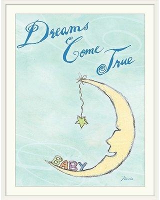 """Great Big Canvas 'Dreams Come True' by Flavia Weedn Print GBCA1569 Size: 24"""" H x 20"""" W x 1"""" D Format: White Framed"""