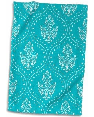 Symple Stuff Drumheller Henna Style Damask Hand Towel W000231646